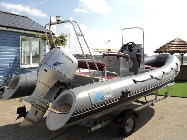 azure 520 rib with honda 75hp outboard engine - 10_l