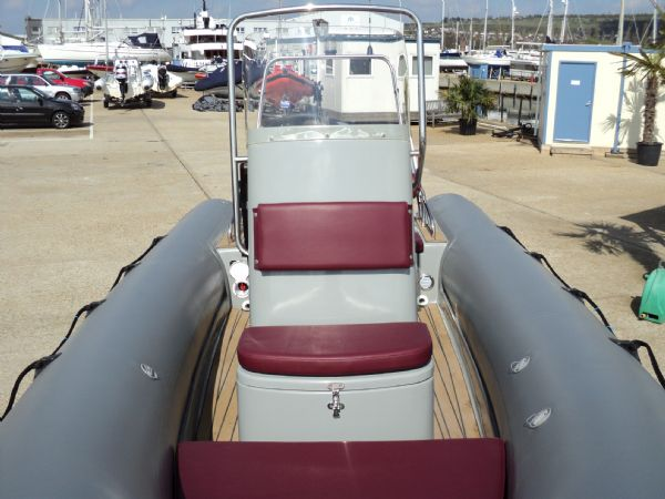 azure 520 rib with honda 75hp outboard engine - bow looking back 3_l