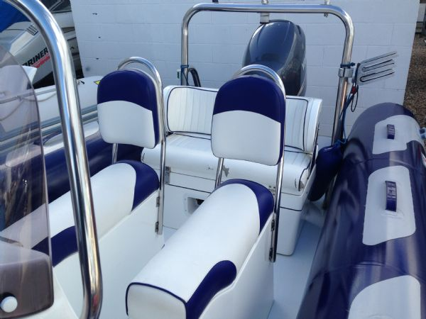 avon 620 rib with yamaha f150 four stroke - jockey seats_l