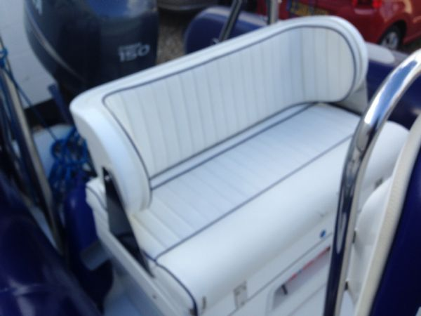 avon 620 rib with yamaha f150 four stroke - rear bench_l