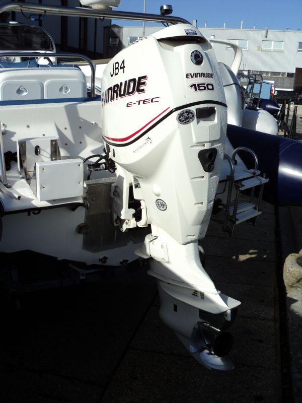 cobra 6m rib with evinrude 150hp - engine_l