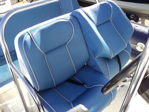 cobra 6m rib with evinrude 150hp - helm seat_l
