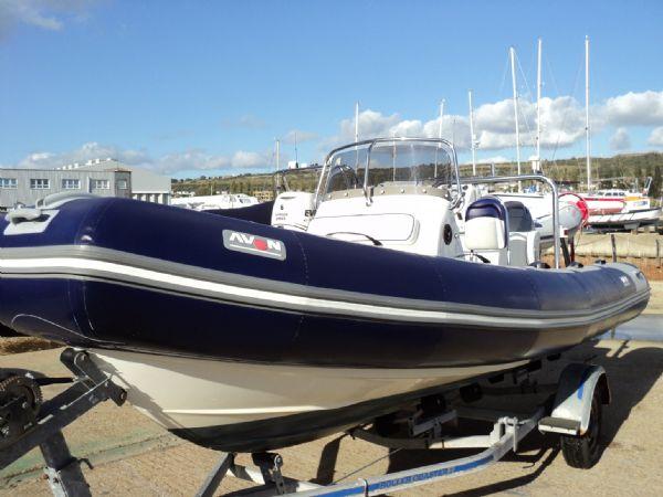 avon 560 rib with yamaha 100 - port bow_l