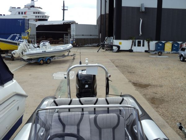 cobra nautique 7.6 rib with mercury verado 250 - rear_l