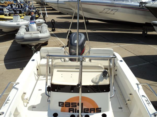 ex - easy rider - boston whaler 18 with yam 200 console front_l