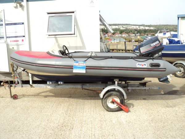 avon searider rib with yamaha 50hp outboard - port_l