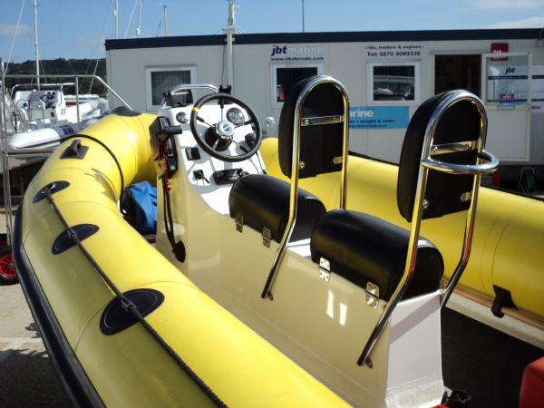 ribcraft 4.8m mariner 60hp - 1165 port stern_l