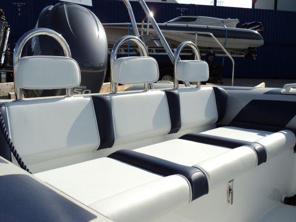 ribeye 650 with yamaha 150 - rear bench_l