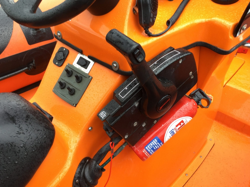 Stock - 1618 - Humber 6.2 Ocean PRO RIB with Opti 150 - Binnacle