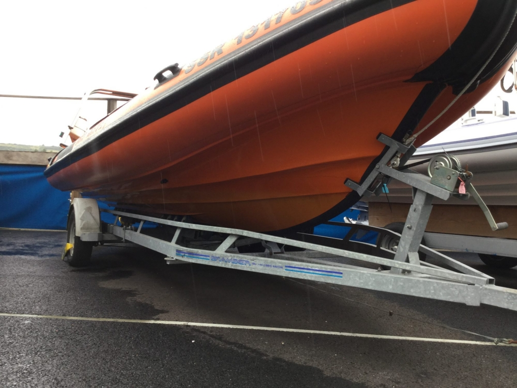 Stock - 1618 - Humber 6.2 Ocean PRO RIB with Optimax 150 engine & trailer - Hull