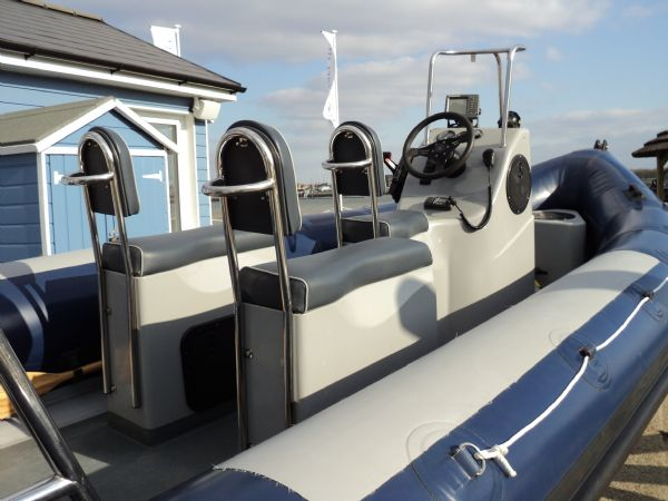 Boat Details – Ribs For Sale - Tornado Voyager 5.85m RIB with Mercury 115HP 4 Stroke Outboard Engine and Trailer