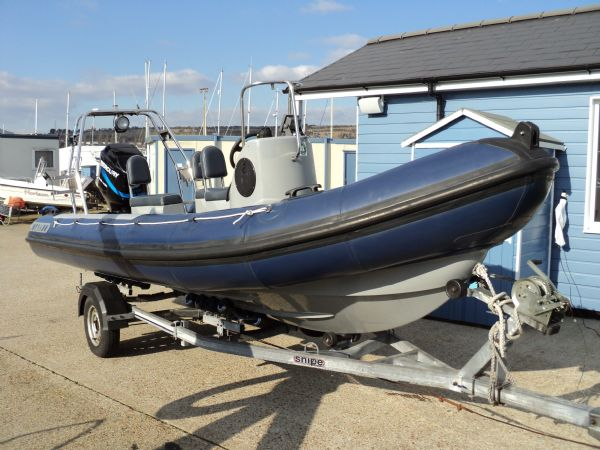 Click to see Tornado Voyager 5.85m RIB with Mercury 115HP 4 Stroke Outboard Engine and Trailer