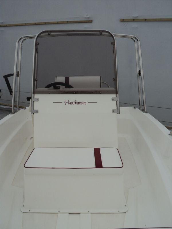horizon 14ft dory with mariner 40 - console seat_l