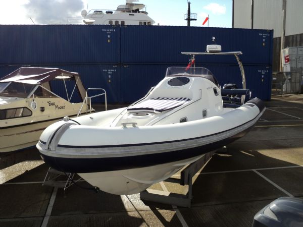 Click to see Ribtec 9.2m Grand Tourer Cabin RIB with Twin 275HP Mercury 4 Stroke Verado Outboard Engines