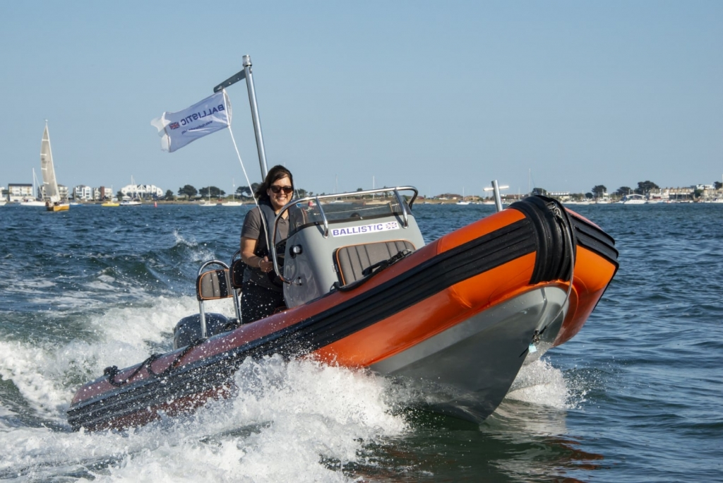 Stock - Ballistic 5.5 Launch with Yamaha FT60 engine - On water 14