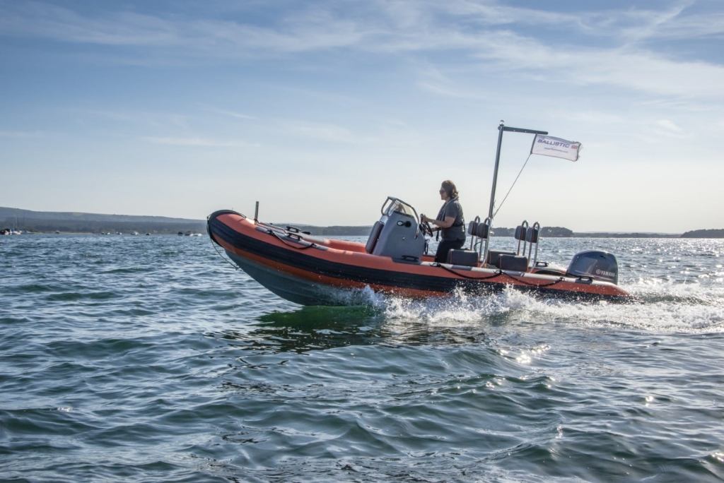 Stock - Ballistic 5.5 Launch with Yamaha FT60 engine - On water 6