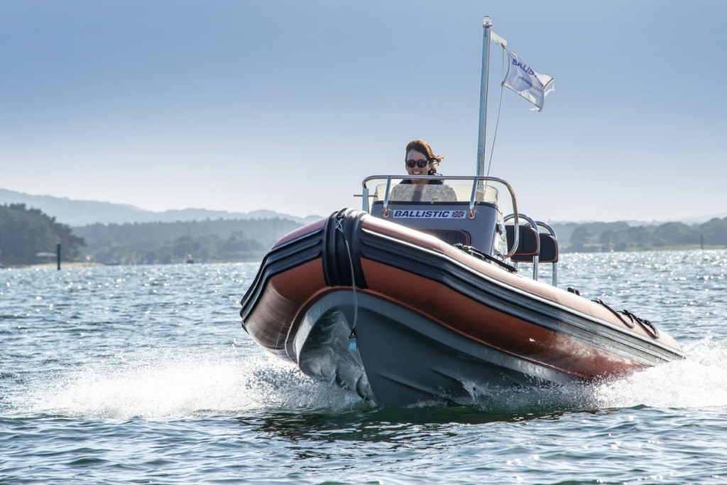 Stock - Ballistic 5.5 Launch with Yamaha FT60 engine - On water 8