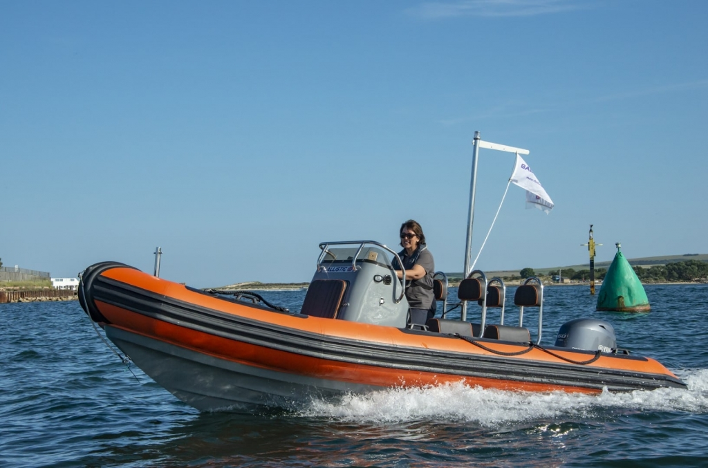 Stock - Ballistic 5.5 Launch with Yamaha FT60 engine - On water 9