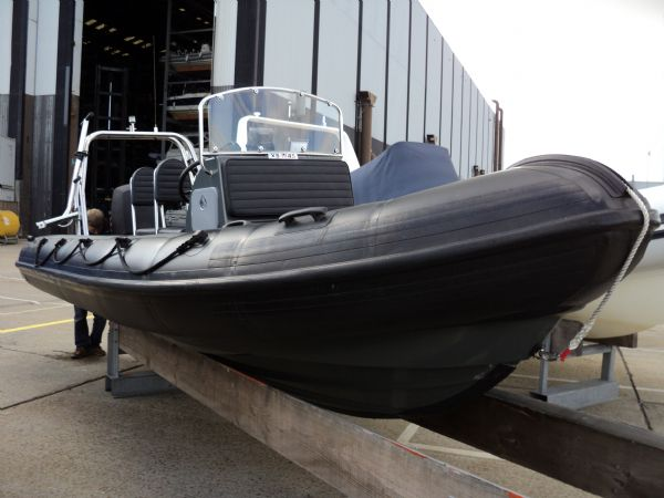 XS-RIB 6 0m with Mercury 150HP 4 Stroke Outboard Engine