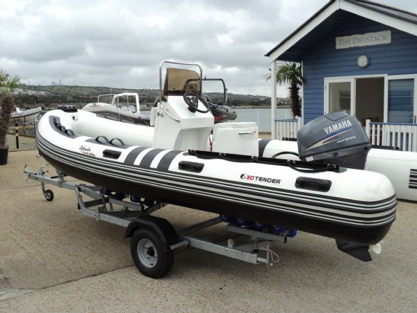 Click to see 3D X-PRO 5.35m Defender RIB with Yamaha 40HP Outboard Engine