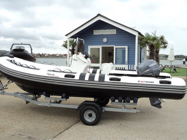 3d tender x-pro 535 defender rib with yamaha 40hp - side_l