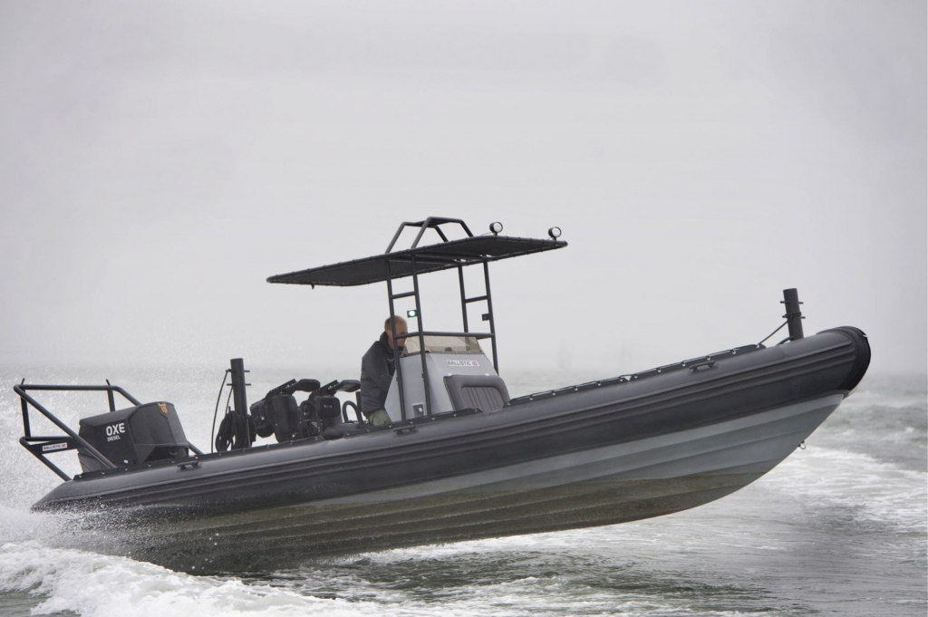 Click to see Ballistic RIB 7.8 Turbo Diesel Outboard OXE 200hp