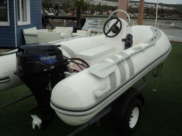 3.3m rib with tohatsu 15hp outboard engine - transom 4_l