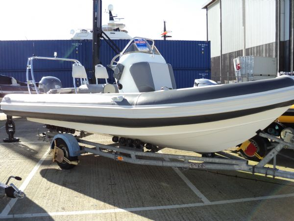 rib-x 650 rib with yamaha 150hp outboard engine - new front_l