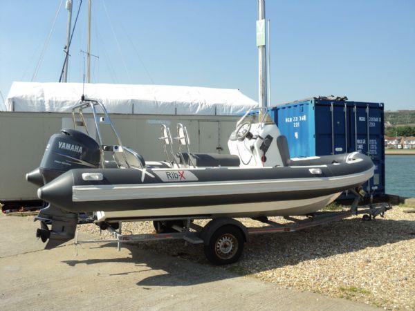 rib-x 650 rib with yamaha 150hp outboard engine - profile 2_l