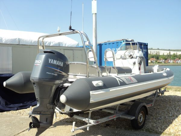 rib-x 650 rib with yamaha 150hp outboard engine - side profile 2_l