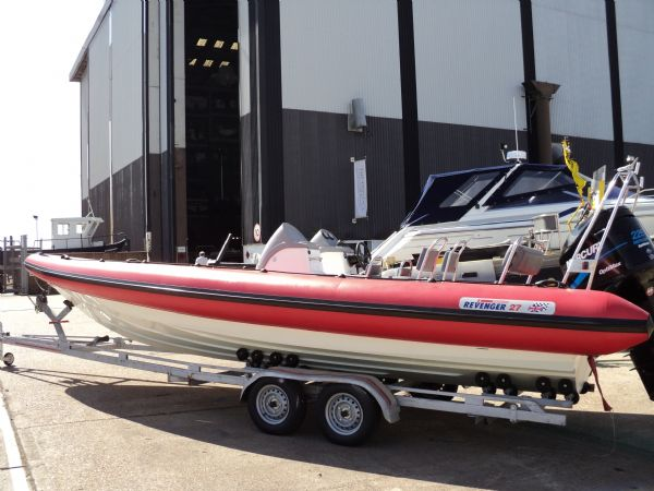 Boat Listing - Revenger 27 RIB with Mercury Optimax 225HP Outboard Engine