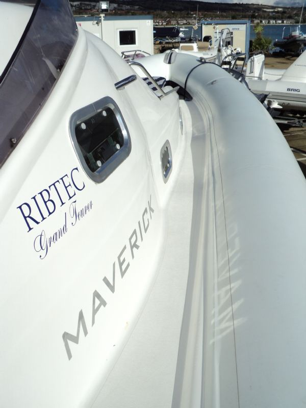 ribtec 9.2 grand tourer rib with twin 275hp - starboard_l