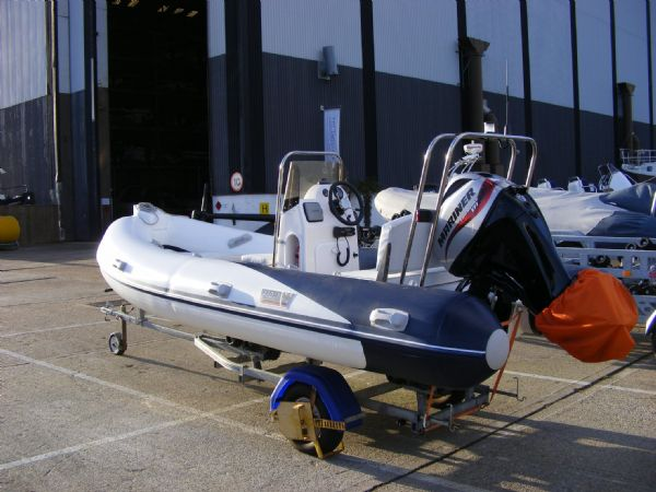 wetline 480 rib with mariner 40hp outboard engine - 9_l