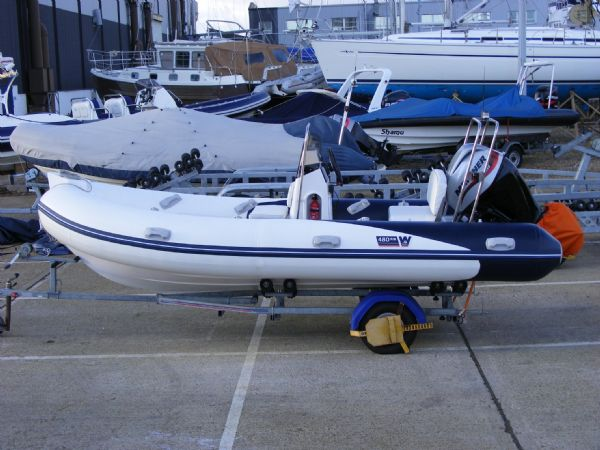 wetline 480 rib with mariner 40hp outboard engine - side profile 6_l