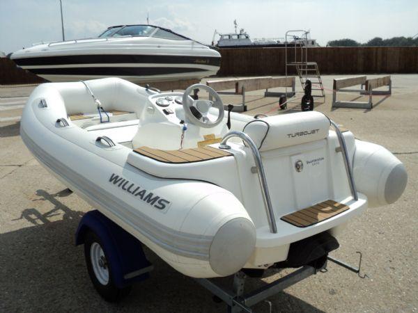 Williams Turbojet 325 RIB with Turbo 140HP Engine - Ribs For