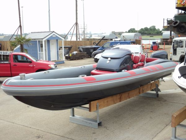 Click to see Cougar R8 RIB with Honda 225HP Outboard Engine