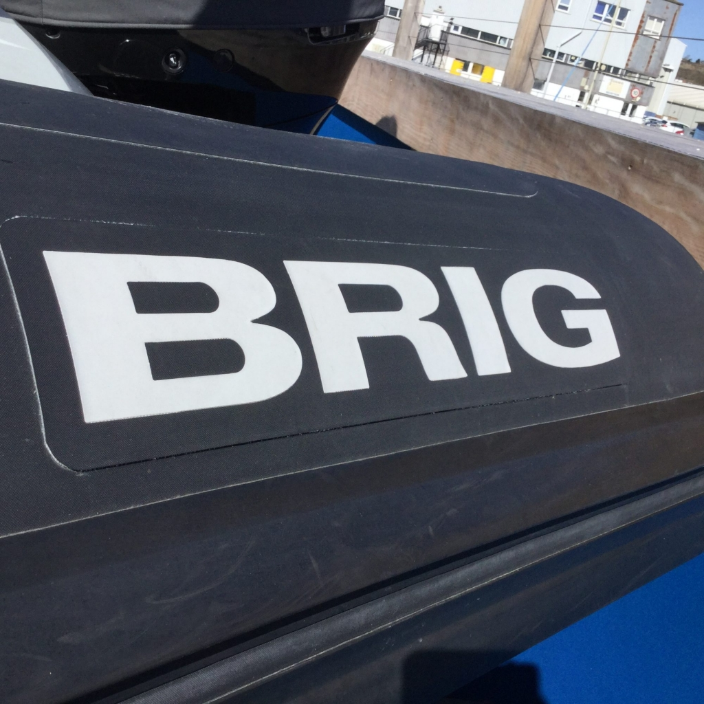 Used BRIG 7 8 RIB with Suzuki DF300 Engine  - Ribs For Sale