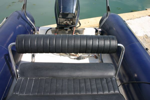 Boat Details – Ribs For Sale - Ribtec 5.35m RIB with Evinrude 70HP 2 Stroke Outboard Engine