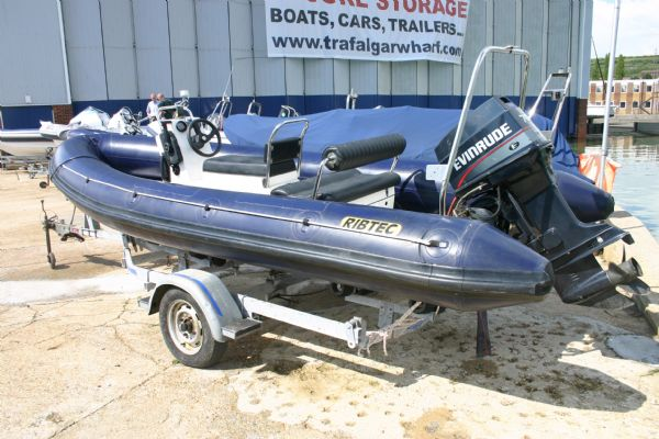 New & Second Hand RIBs & Engines for sale - Ribtec 5.35m RIB with Evinrude 70HP 2 Stroke Outboard Engine