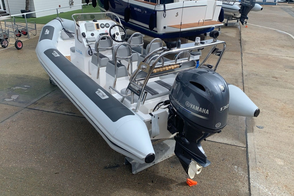 Boat Details – Ribs For Sale - Used Ribeye 6.5m Sport RIB / Speed Boat with Yamaha 150HP Engine