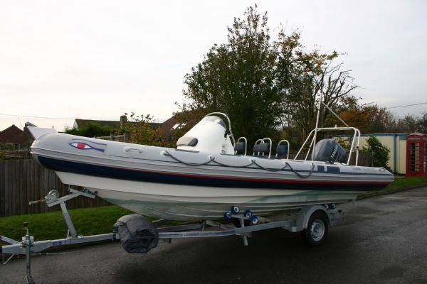 New & Second Hand RIBs & Engines for sale - Used Ribeye 6.5m Sport RIB / Speed Boat with Yamaha 150HP Engine