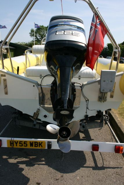 Boat Details – Ribs For Sale - Used Scorpion 7.5m RIB with Mariner Optimax 225HP Engine
