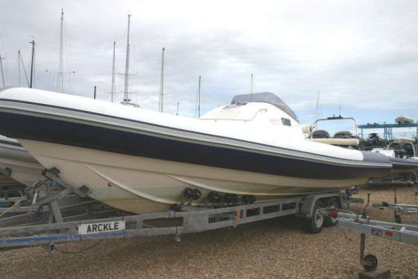 Click to see Used Ribtec Grand Tourer RIB with Twin Mercury Verado 275HP Engines