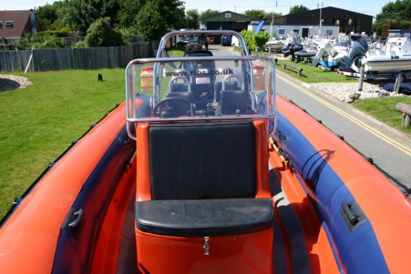 Boat Details – Ribs For Sale - Used Tornado 7.5m RIB / Power Boat with Mercury 225HP Optimax Engine