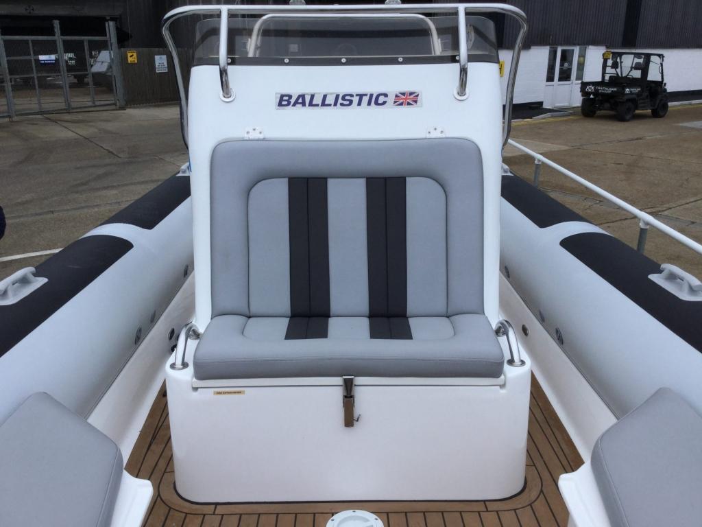 Brokerage - BCT - Ballistic 7.8 RIB with Yamaha F250 engine - Double Console seat