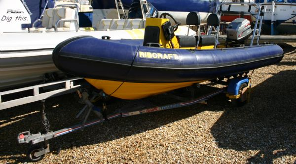 Click to see Used Ribcraft 4.8m RIB / Speed Boat with Mariner 60HP 2 Stroke Engine