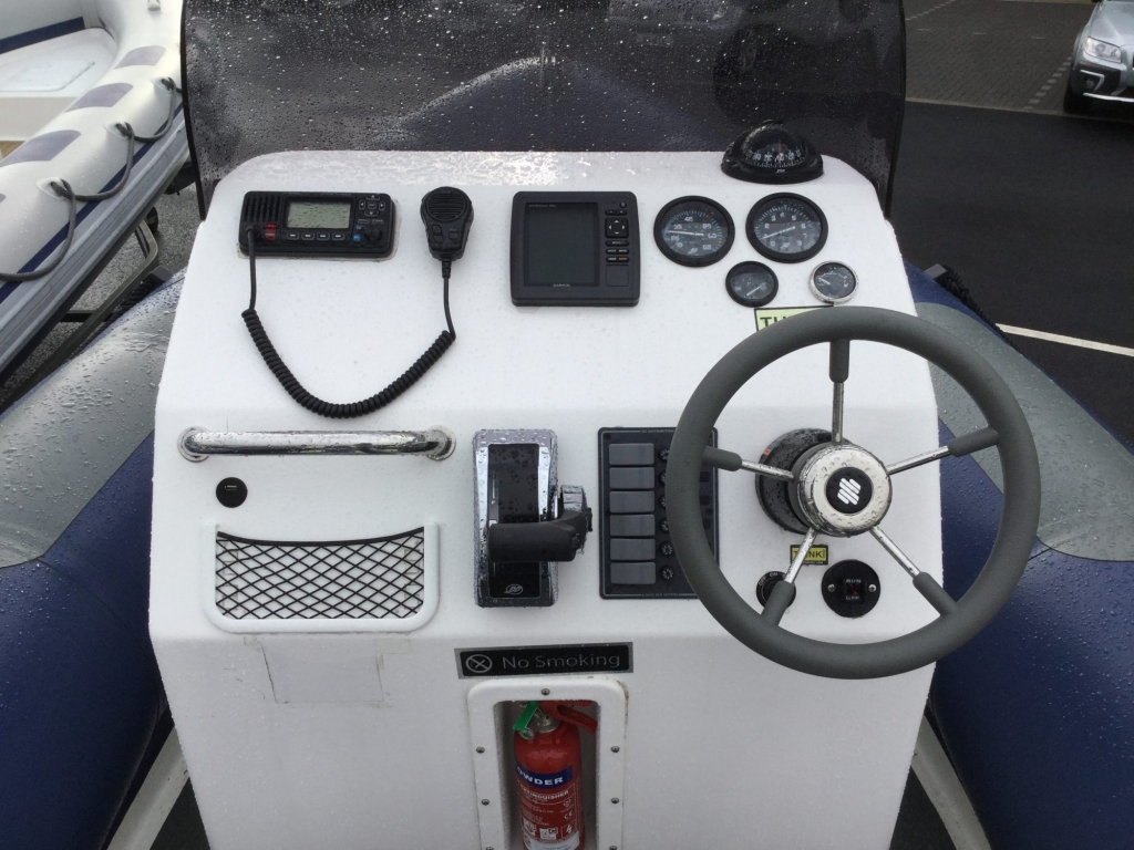 Stock - 1548 - XS600 RIB with Mariner 115hp engine and trailer - Helm 2