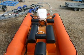 Boat Details – Ribs For Sale - Used Humber Destroyer 5.8m RIB / Speed Boat with Johnson 150HP Outboard Engine