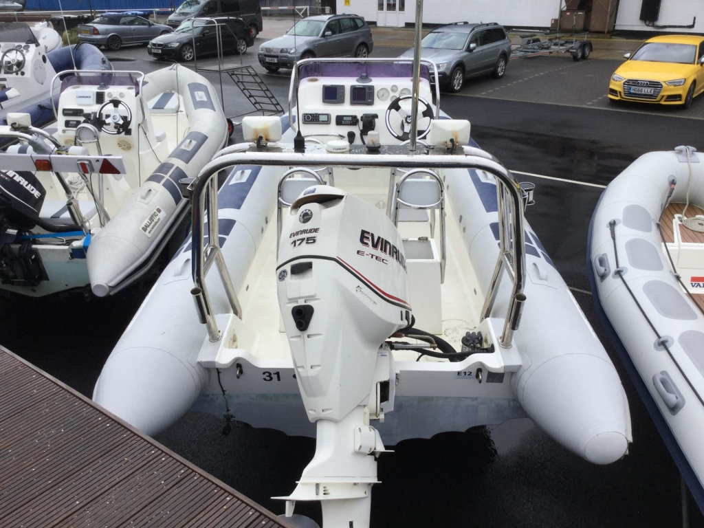 Stock - 1539 - Ballistic 650 with ETEC 175 engine and trailer - Aft 2