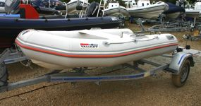 Click to see Used Valiant D-300 3.0m RIB with Tohatsu 9.8HP Outboard Engine